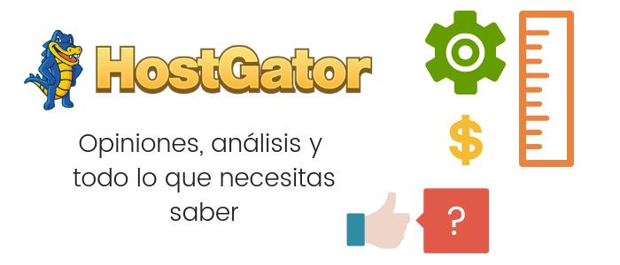 Análisis, datos y opiniones de HostGator