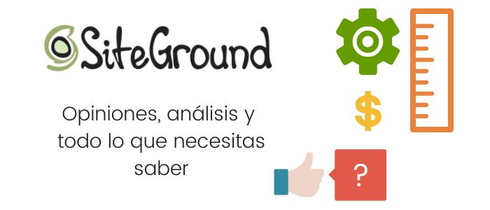 Análisis, datos y opiniones de SiteGround
