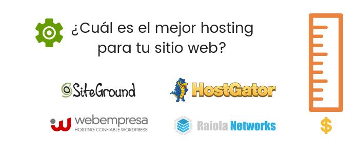 ¿Cuál es el mejor hosting? Los 4 mejores