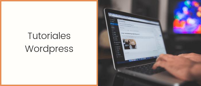 Wordpress Tutoriales