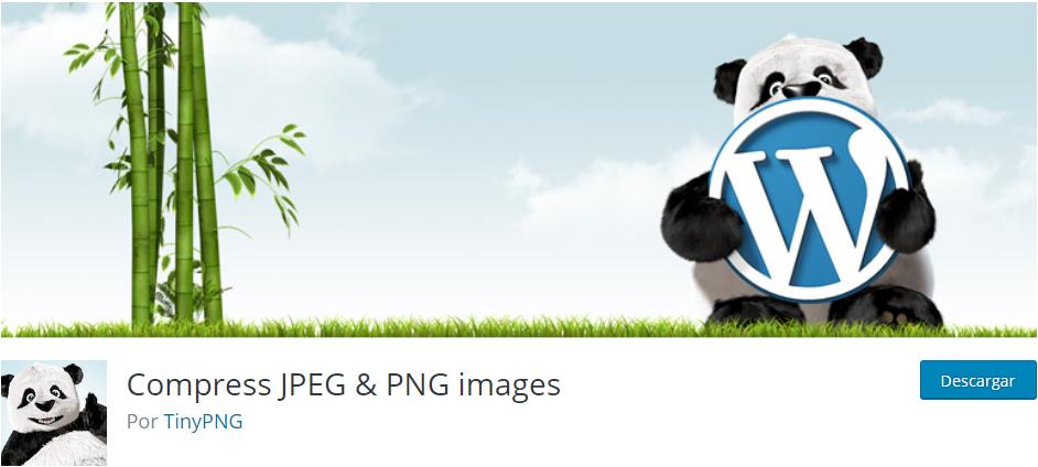 Compress JPEG y PNG images