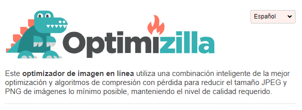 Optimizilla optimizador de imagenes para wordpress