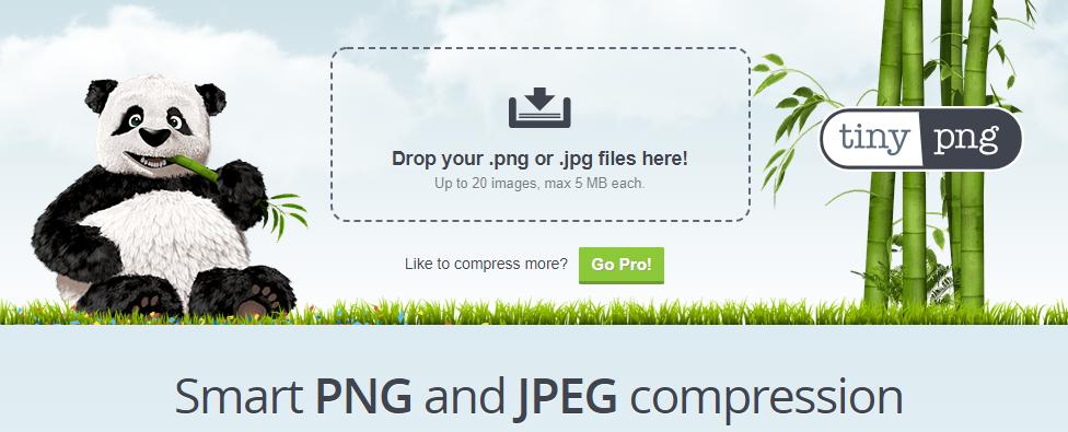 Tiny png compresor de imagen para wordpress