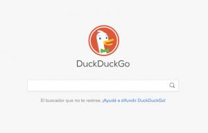 DuckDuckGo Buscador Privado y Seguro