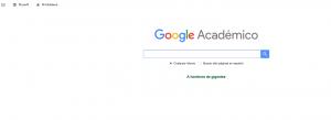 Google Académico motor de búsqueda