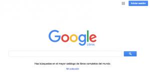 Google Libros motor de búsqueda