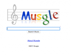 Musgle buscador de audio