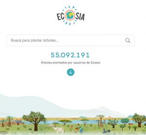 ecosia buscador solidario de internet