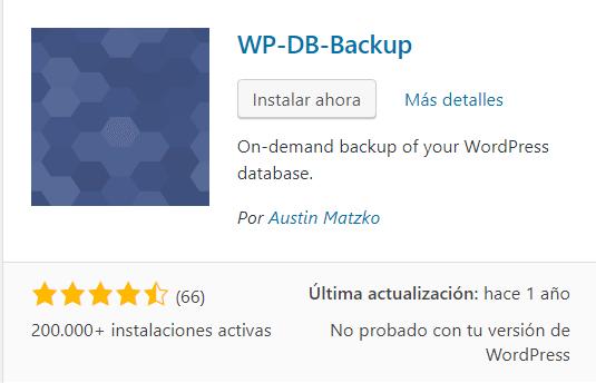 WPBDBACKUP