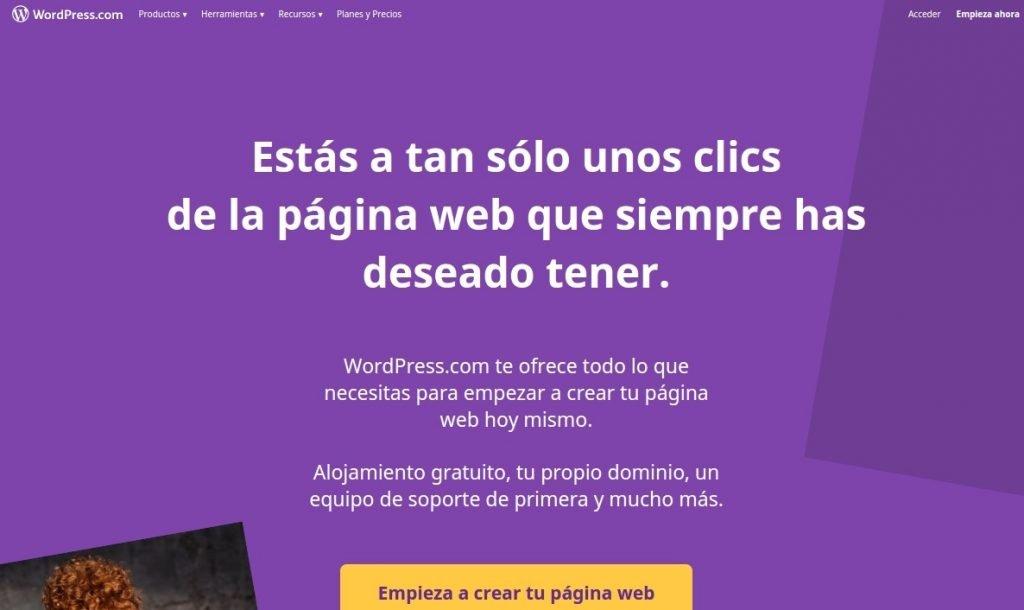 crear paginas web con wordpress