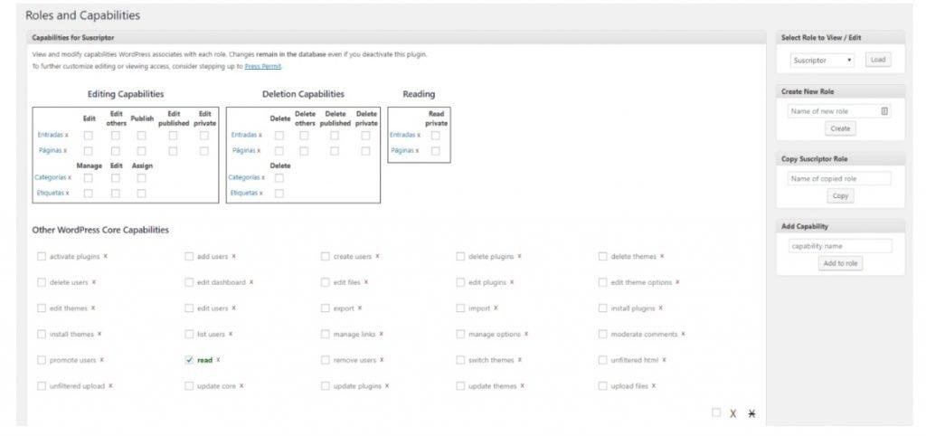 perfiles de usuarios wordpress